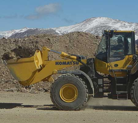 Frontal Wheel Loaders