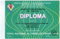diploma Loc I CH 2010