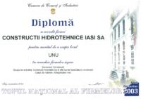 diploma Loc I IM constructii 2003