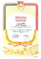 diploma de Onoare 1986