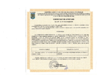 Certificat ANIF vizat 2018