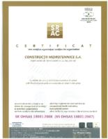 Srac OHSAS 18001-2008