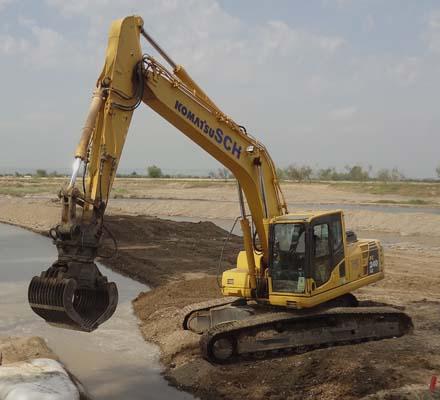 Excavators and draglines